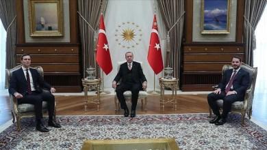 Photo of أردوغان وكوشنر يبحثان حل الصراع الفلسطيني الإسرائيلي