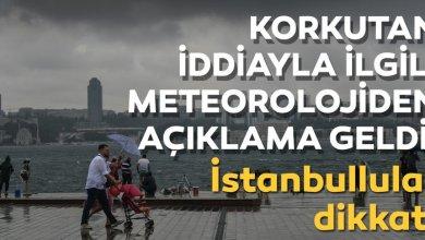 Photo of تحذير من هطول أمطار غزيرة في ولاية إسطنبول