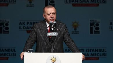 Photo of الرئيس أردوغان: كل مكان في فرنسا يحترق وينهار