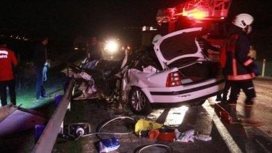 Photo of مصرع عسكري تركي وإصابة 10 آخرين بحادث اصطدام مروع في مرسين
