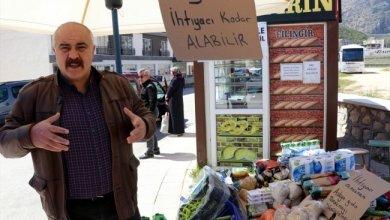 """Photo of استمرار حملة """"الطعام المعلق"""" طوال شهر رمضان في ولاية أماسيا التركية"""
