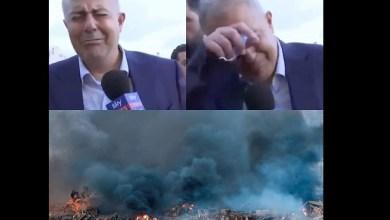 "Photo of فيديو .. محافظ بيروت باكيا: لدينا مصيبة في لبنان .. ما حدث أشبه بتفجير ""هيروشيما"""
