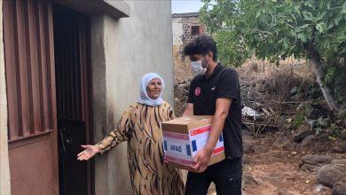"""Photo of """"آفاد"""" التركية تقدم مساعدات غذائية لـ200 عائلة لبنانية"""