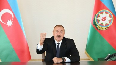 Photo of علييف يضع شرطاً وحيداً لوقف الاشتباك مع أرمينيا