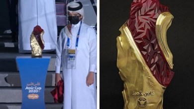 Photo of تصميم كأس أمير قطر يخطف الأضواء.. ذهب خالص ومورانو