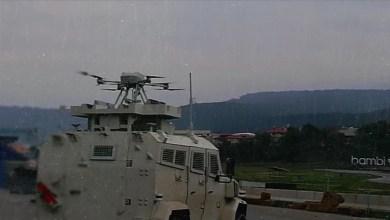 """Photo of لأول مرة.. دمج درون """"سونغار"""" المسلح بمدرعة برية تركية"""