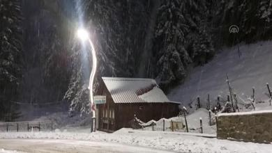 Photo of مع بدء تساقط الثلوج .. شاهد كيف بدت أحد مناطق ولاية ريزا التركية
