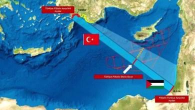 Photo of تركيا.. مقترح عسكري لتوقيع اتفاقية بحرية مع فلسطين