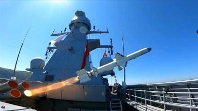 """Photo of أردوغان يعلن نجاح اختبار صاروخ """"أطمجه"""" المضاد للسفن"""