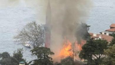 Photo of امرأة تحرق مسجداً تاريخيا في إسطنبول والكاميرات تكشفها (فيديو)
