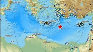 Photo of زلزال بقوة 6.4 في البحر المتوسط يشعر به سكان تركيا و مصر و سوريا و لبنان