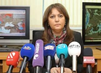 Ekologiya və Təbii Sərvətlər Nazirliyinin Milli hidrometeorologiya departamentinin direktoru Umayra Tağıyeva