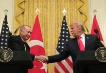 Türkiyə Prezidenti Rəcəb Tayyib Ərdoğan və ABŞ Prezidenti Donald Tramp