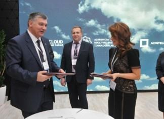 """""""AzInTelecom"""" ilə Belarusun Trafik Mübadiləsi Milli Mərkəzi arasında müqavilə imzalanıb"""