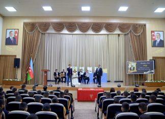 Hərbi Liseydə Nəsiminin 650 illik yubileyinə həsr olunan tədbir