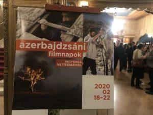 Macarıstanda Azərbaycan Kinosu Günləri keçirilir