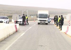 Bakı, Sumqayıt şəhərlərində və Abşeron rayonundakı ara və köməkçi yollarda polis postları