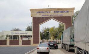 """""""Qırmızı körpü"""" sərhəd-keçid məntəqəsi"""