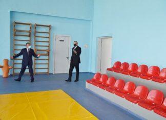 Tərtər Olimpiya İdman Kompleksinin açılışı