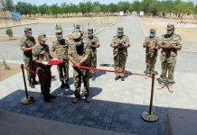 HHQ-nin cəbhəboyu zonada yerləşən növbəti hərbi hissəsinin açılış mərasimi