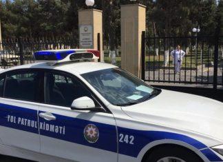 Xəzər RPİ Dövlət Yol Polis Şöbəsinin əməkdaşları