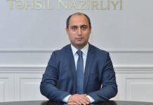 Azərbaycan Respublikasının Təhsil naziri Emin Əmrullayev