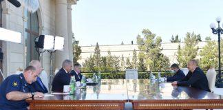 Azərbaycan Respublikasının Prezidenti İlham Əliyev avqustun 25-də Rusiya Federasiyasının Müdafiə naziri Sergey Şoyqunun başçılıq etdiyi nümayəndə heyətini qəbul edib