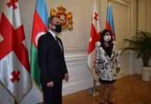 Gürcüstan Prezidenti Azərbaycanın Xarici İşlər nazirini qəbul edib