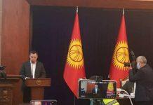 Qırğızıstanın Baş Naziri Sadır Japarov