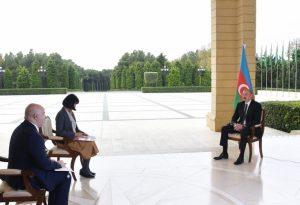 """Prezident İlham Əliyev Yaponiyanın """"Nikkei"""" qəzetinə müsahibə verib"""