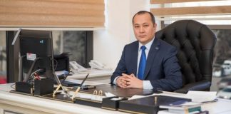 TÜRKPA-nın Baş katibiAltınbek Mamayusupov