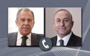 Sergey Lavrov və Mövlud Çavuşoğlu