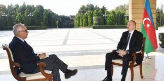 """Prezident İlham Əliyev İtaliyanın """"La Repubblica"""" qəzetinə müsahibə verib"""