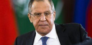 Rusiya xarici işlər naziriSergey Lavrov