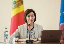 Moldovanın Prezidenti xanım Maya Sandu