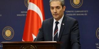 Türkiyə Xarici İşlər Nazirliyinin sözçüsü Hami Aksoy