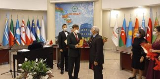 AzTV-nin əməkdaşı TÜRKSOY-un diplomu ilə təltif olunub