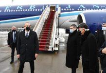 Azərbaycan Prezidenti İlham Əliyev Rusiya Prezidenti Vladimir Putinin dəvəti ilə Moskvaya işgüzar səfərə gəlib