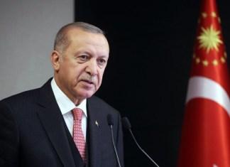 Türkiyə Prezidenti Rəcəb Tayyib Ərdoğan