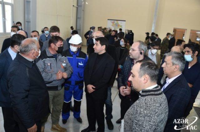 """Xarici diplomatlar və hərbi attaşelər Laçında """"Güləbird"""" Su Elektrik Stansiyası ilə tanış olublar"""