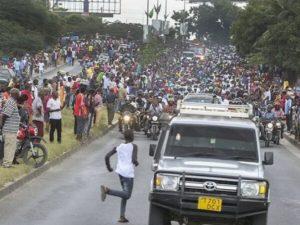 Tanzaniyada prezidentlə vida mərasimi zamanı basırıq nəticəsində 45 nəfər ölüb