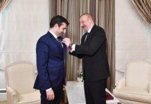 """Prezident İlham Əliyev Selçuk Bayraktarı """"Qarabağ"""" ordeni ilə təltif edib"""