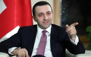 Gürcüstanın baş naziriİrakli Qaribaşvili