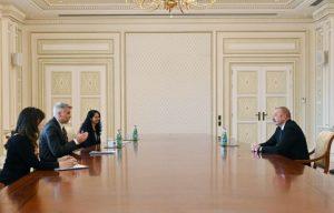 Prezident İlham Əliyev Dünya Bankının regional direktorunu qəbul edib