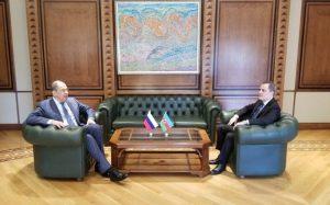 Sergey Lavrov və Ceyhun Bayramov