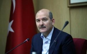 Türkiyәnin daxili işlәr naziri Süleyman Soylu