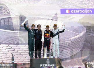 """Formula 1 Azərbaycan Qran-Prisi """"Red Bull Racing Honda"""" komandasının pilotu Serxio Peresin qələbəsi ilə başa çatıb"""