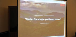 """""""Qədim Qarabağın yenilənən siması"""" adlı müsabiqə proqramı"""