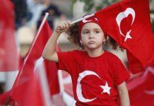 Zəfər bayramı İstanbulda da böyük coşqu ilə qeyd edilib