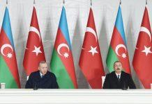 Azərbaycan və Türkiyə prezidentləri Zəngilanda mətbuata birgə bəyanatla çıxış ediblər